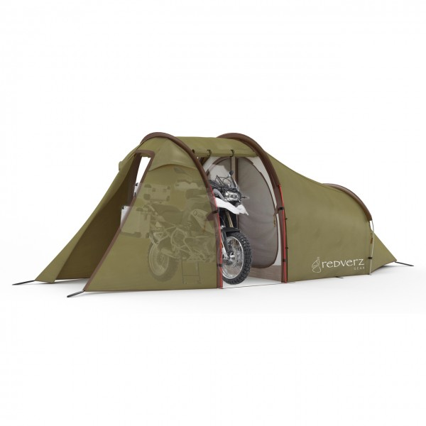 Redverz Atacama Expedition Tent in GREEN