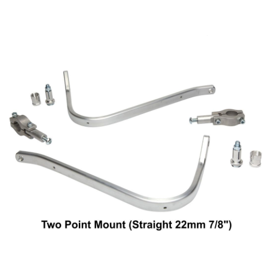 Barkbusters Hardware Kit - Two Point Mount (Straight 22mm 7/8