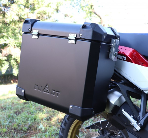 Bumot Defender EVO Pannier System Honda CRF1000 Africa Twin 2018 on