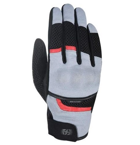 Oxford Brisbane Air Glove Tech Grey & Black