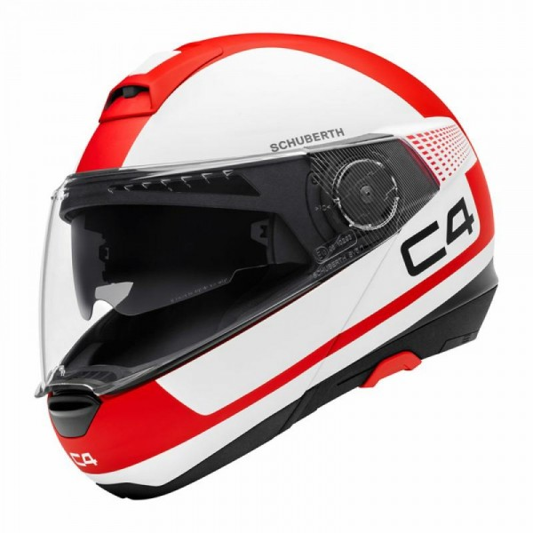 Schuberth C4 Helmet - Legacy Red