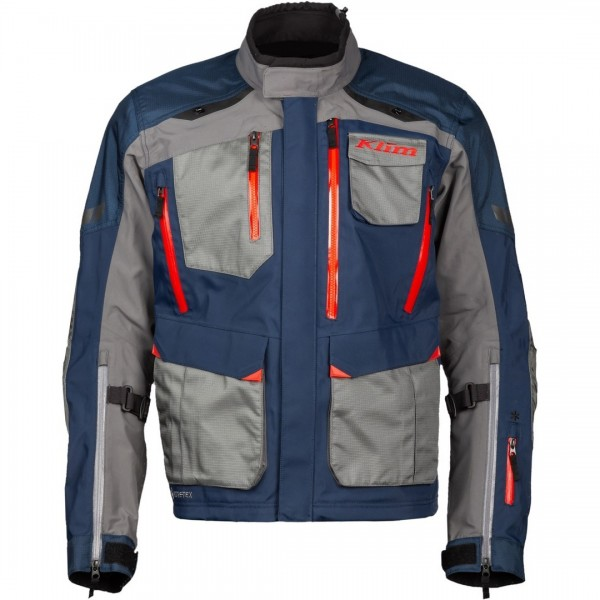 Klim 2020 Carlsbad Jacket - Light Grey/Blue