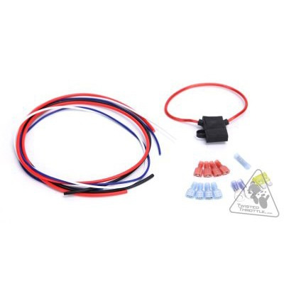 Denali Do-It-Yourself wiring kit Stebel Air Horn & Denali SoundBomb Compact Dual-Tone Air Horn