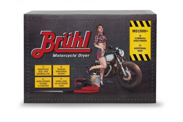 Bruhl Md1900 2 Single Turbine Motorcycle Dryer