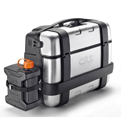 GIVI Support in stainless steel to mount TAN01 onto Trekker Cases