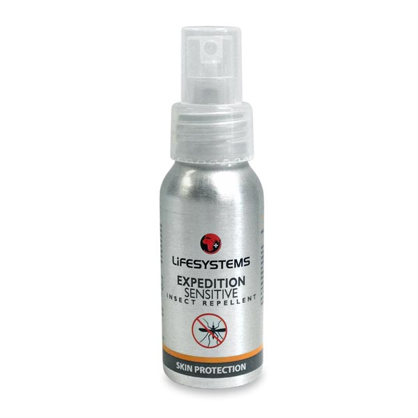 LifeSystems Expedition Sensitive Spray Insect Repellent