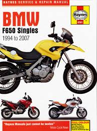 Haynes BMW F650 Single 94 to 07