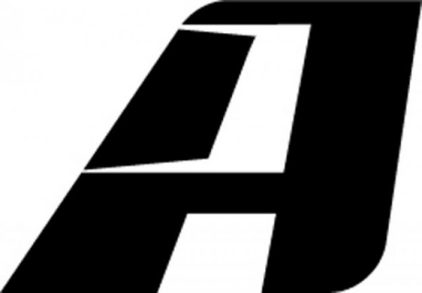 AltRider A Logo Decal / Sticker in Black