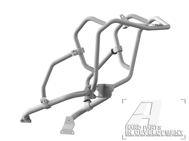 AltRider Crash Bar System for the Honda CRF1000L Africa Twin in SILVER