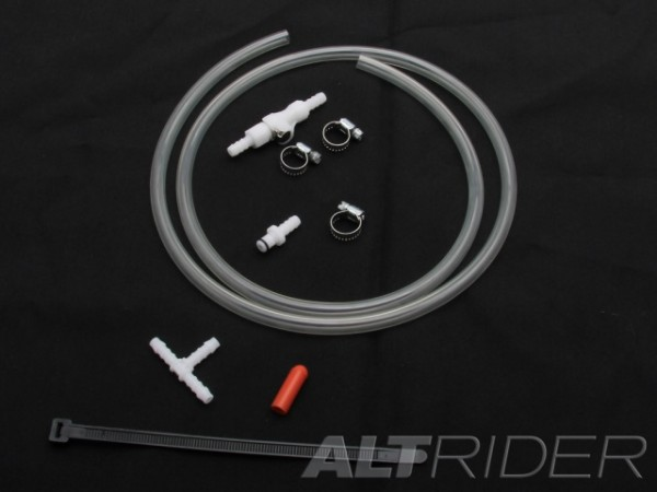 AltRider Quick-Disconnect Fuel Share System for the BMW R1200GS/GSA-LC
