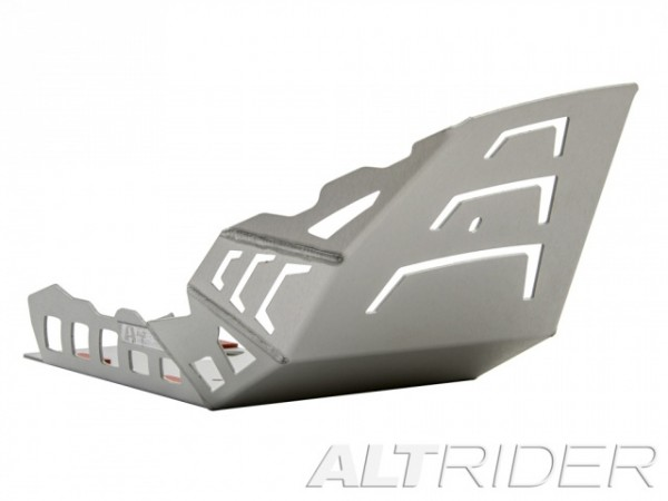 AltRider Skid Plate (Sump Guard) for the BMW G650GS Silver