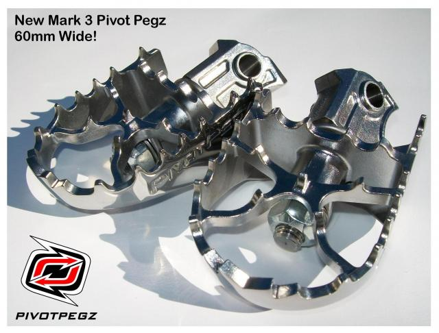 AltRider Pivot Pegz WIDE MK3 for BMW R1200GS LC 2013