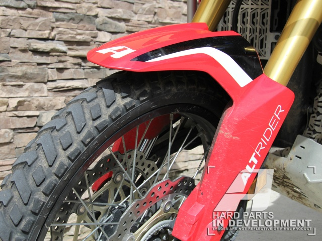 Altrider Fender Riser Kit For The Honda Crf1000l Africa Twin
