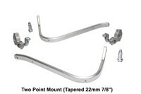 Barkbusters Hardware Kit - Two Point Mount (Tapered 22mm 7/8