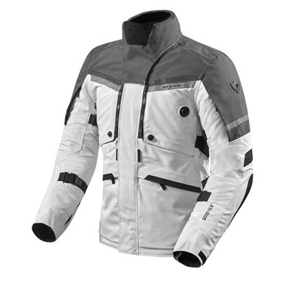 REV'IT Poiseidon 2 GTX Jacket - Silver/Anthracite