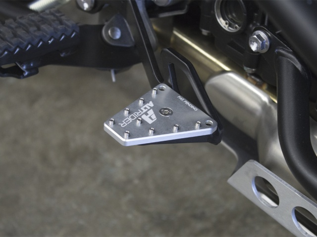 AltRider DualControl Brake Enlarger for the Triumph Tiger 800 - All models and Triumph Explorer 1200
