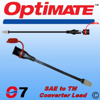 O7 OptiMate SAE to TM Converter Lead