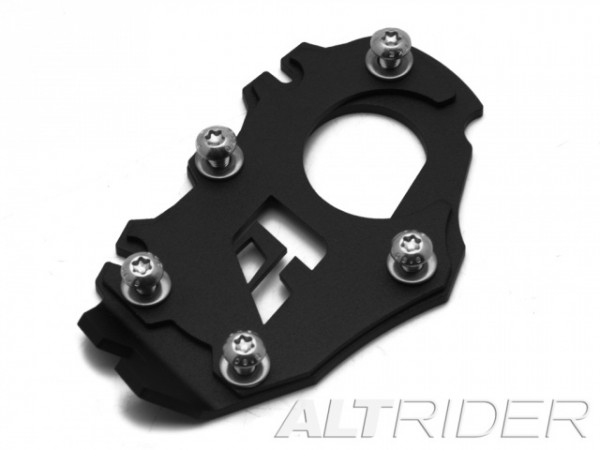 AltRider Side Stand Enlarger Foot for the LOWERED BMW R1200/1250 GSA Water Cooled (all years)