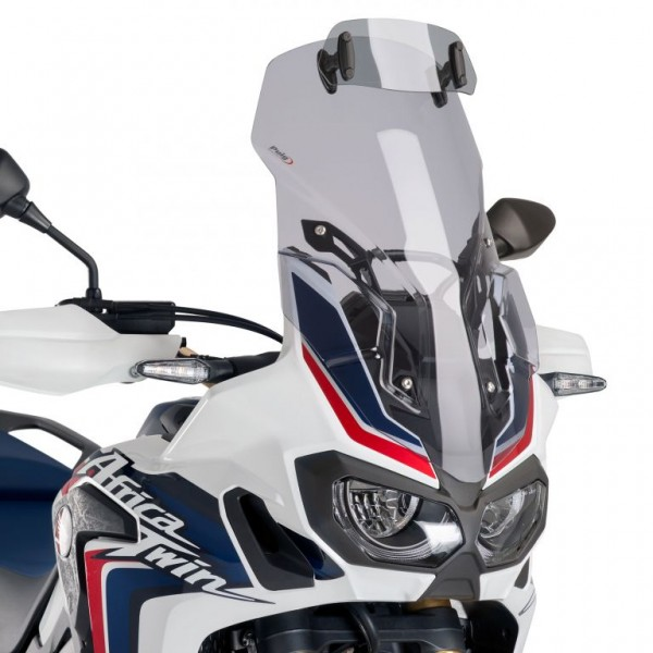 Africa Twin CRF1000L Touring Screen Light Smoke with adjustable visor