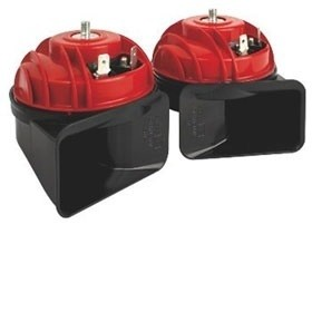 FIAMM Mini Blaster twin pack 119dB red and black