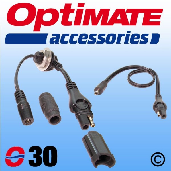 O30 OptiMate SAE Tank Bag Cable Set