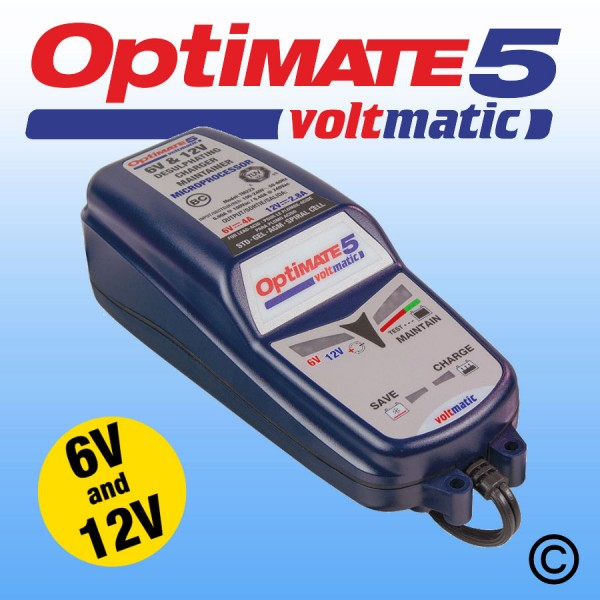 Optimate 5 Voltmatic Battery Charger