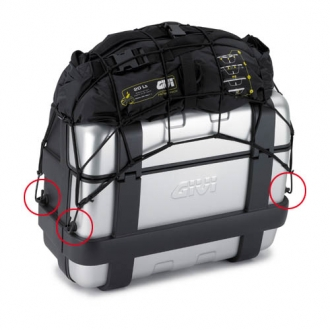 GIVI Cargo Net Kit for Trekker Boxes