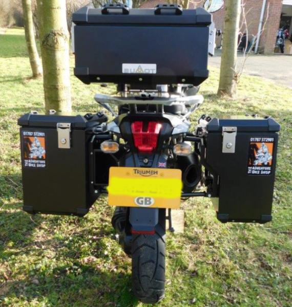Bumot Pannier System Triumph 1200 Explorer