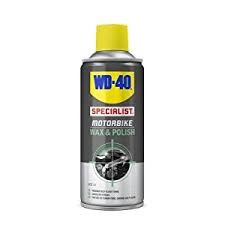 WD-40 Motorcycle Wax & Polish (400ml)