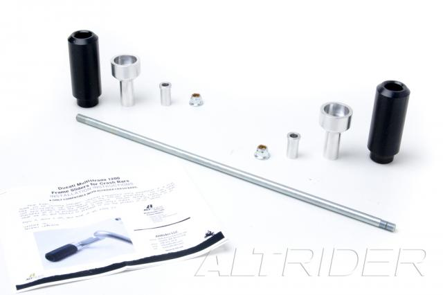 AltRider Crash Bar Frame Sliders for Ducati Multistrada 1200