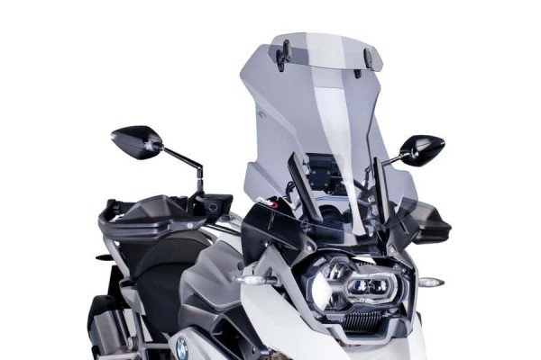 R1200GS & GSA-LC Touring Screen - Light Smoke with adjustable visor