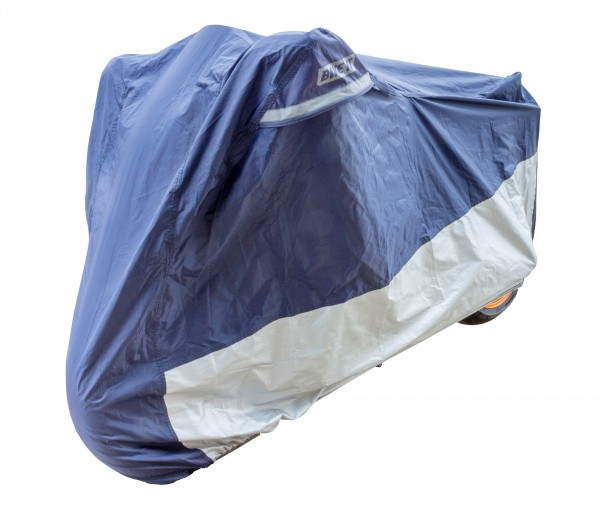 BIKE IT DELUXE HEAVY DUTY VENTILATED RAINCOVER - XXL - 1200CC WITH LUGGAGE