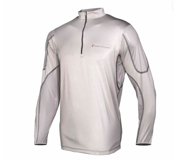 Moto Skiveez TECHNICAL RIDING SHIRT GREY