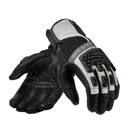 REV'IT Sand 3 Ladies Gloves - Black/Silver