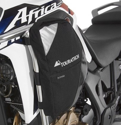 Touratech Bags Ambato for crash bars 402-5160/402-5161 for Honda CRF1000L Africa Twin (1 pair)
