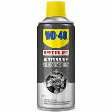 WD-40 Motorcycle Silicone Shine (400ml)