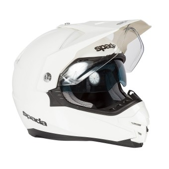 SPADA Helmet Intrepid Pearl White