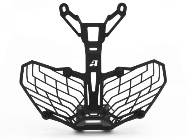 Altrider Stainless Steel Mesh Headlight Guard For The Honda Crf1000l Africa Twin: Honda Crf Regulator Rectifier Wiring At Hrqsolutions.co