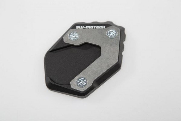 SW Motech Extension for side stand foot Black/Silver. BMW R1200GS LC Adv (14-)/Rallye.