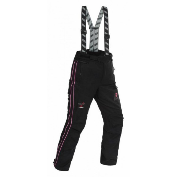 RUKKA Suki Ladies Trouser - Black/Pink (Short Length minus 7cm)