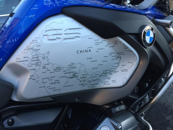 BMW R1200GS LC 2017 Stickers in WHITE