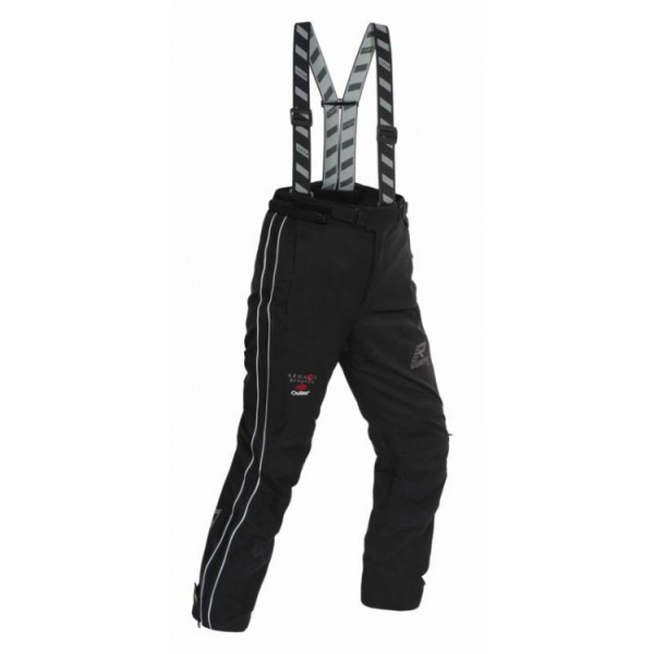 RUKKA Suki Ladies Trouser - Black/Silver (Standard Length)